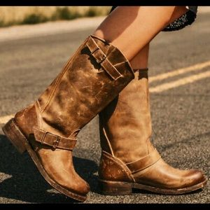 FREE BIRD by Steven | Leather Crosby Boots